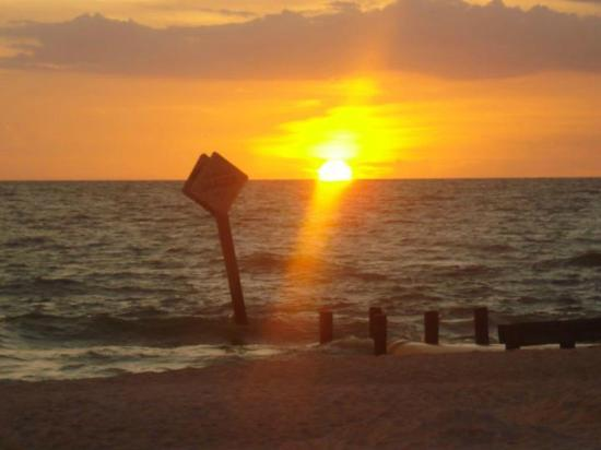 Best Sunsets ever! Naples Beach Hotel and Golf Club