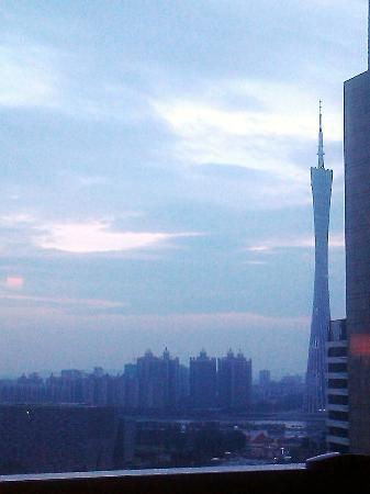 Grand Hyatt Guangzhou: View from club lounge