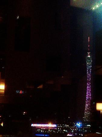 Grand Hyatt Guangzhou: View from club lounge 
