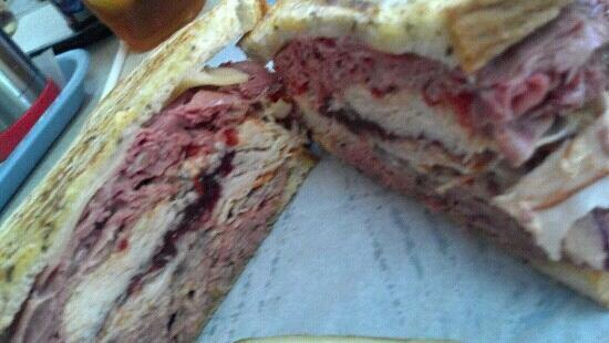 Chops Deli: our constantinople sandwich. yum!