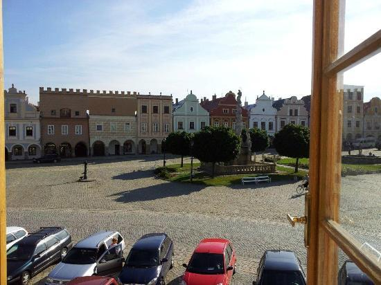 Pension Telc No. 20: View from our window