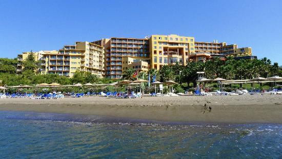 Robinson Club Sarigerme Park: Hotel vom Meer gesehen