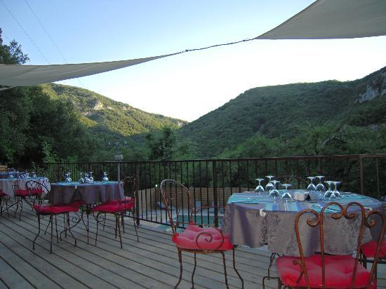Hotel Le Belvedere : vu de la terrasse