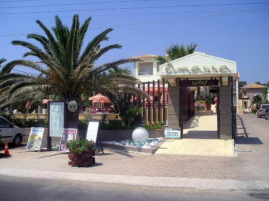 Anassa Hotel: The front entrance.