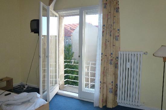 Hotel-Pension Gribnitz: Balkon