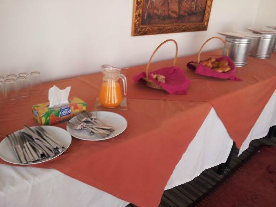 Palais Soltan Riad & Spa : le buffet petit dejeuner