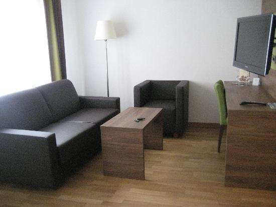 Hotel Ratisbona: Modern und geschmackvoll Sitzecke