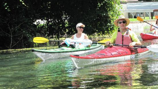 Osprey Bay Outdoors: Having Fun out kayaking