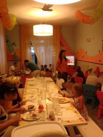 Hotel Fabrizio: Saletta pranzo Baby