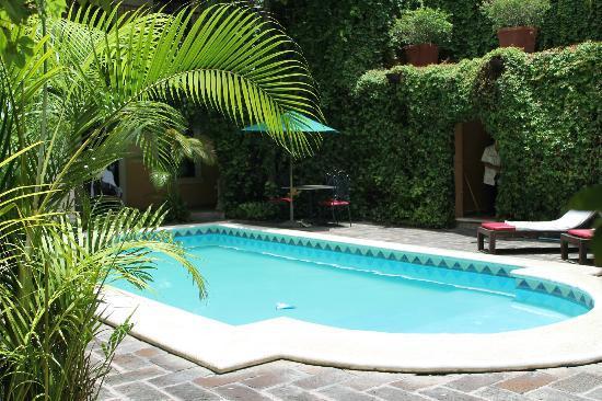 La Mision de Fray Diego: pool