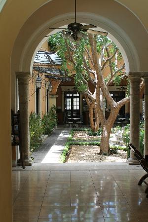 La Mision de Fray Diego: courtyard