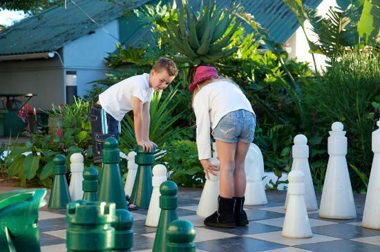 Trennerys Hotel : Playing chess