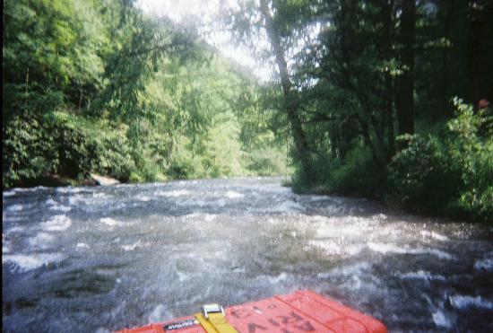 Topton, Βόρεια Καρολίνα: Going down the Nantahala River