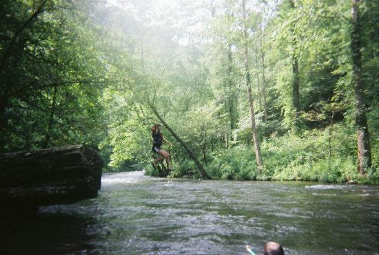 Appalachian Rivers Raft Company: Tell the guides at Appalachian River Co. you want to jump in and they are willing to accommodate
