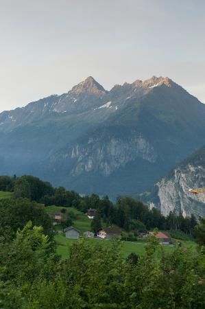 Pension Chalet Berkana: Morning view