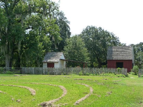 Evangeline State Park : Acadian Farm