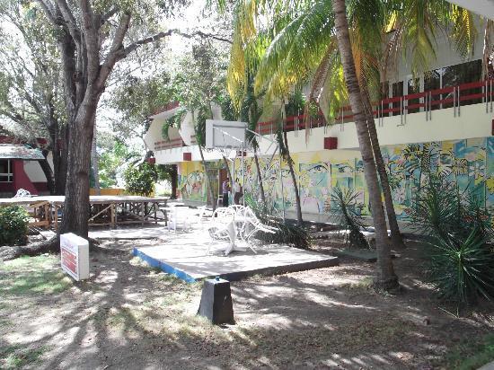 Hotel Guantanamo: Sur le terrain extérieur.