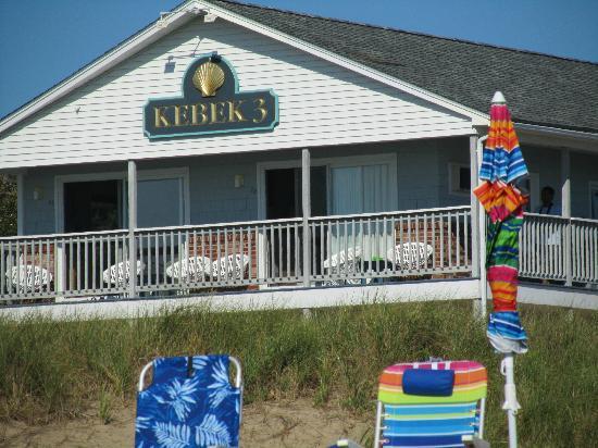 KebeK 3 Motel: Ocean Front Rooms