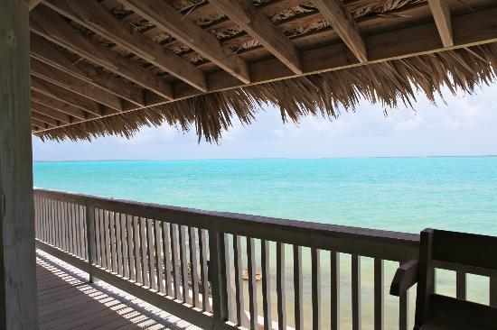 Pascal's at Cape Eleuthera: View from gazebo bar