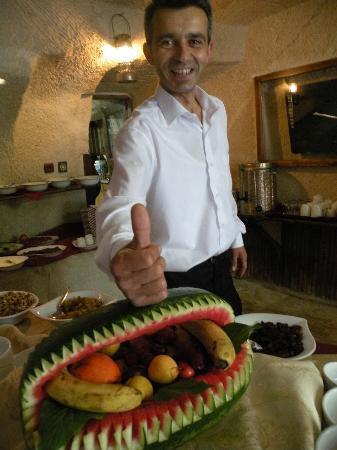 """Gamirasu Cave Hotel: Artista de la cocina y su obra: """"La Sandía Encantada"""""""