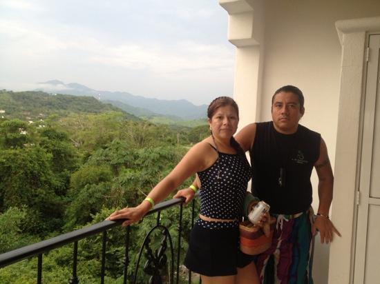 Hotel Loma Linda: mi esposa y yop
