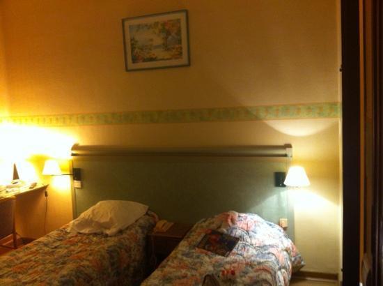 Hotel des Allees: room