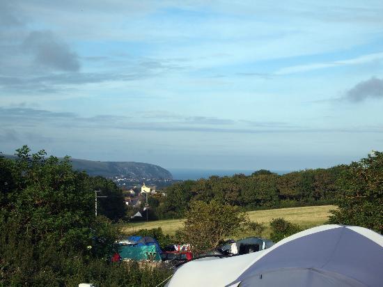 Tom's Field : Sea view