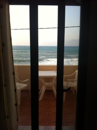 Hotel Christina: la vista dalla camera