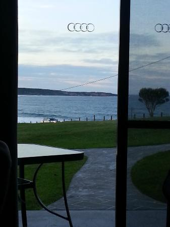 Beach Cabins Merimbula: The view from our cabin