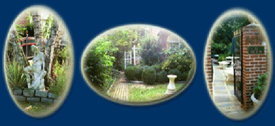 La Cle D'Or Guesthouse: secret gardens