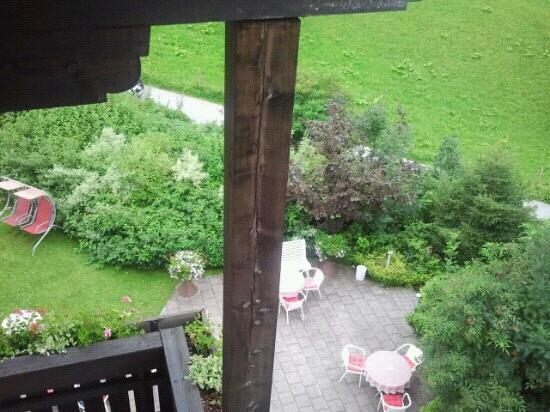Hotel Hintermoos: giardino