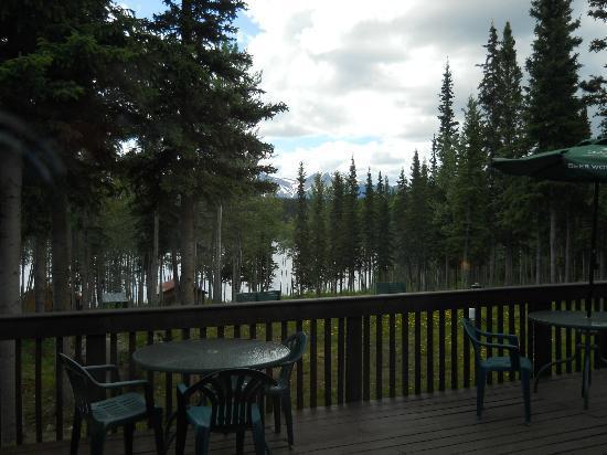 Dawson Peaks Resort & RV Park : Dawson Peaks spectacular scenery