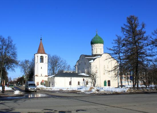 Church of Theodore Stratilates on the Brook: Церковь Фёдора Стратилата на Ручью ХIV век