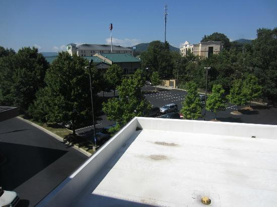 Hampton Inn Asheville - I-26 Biltmore Area : View from 414
