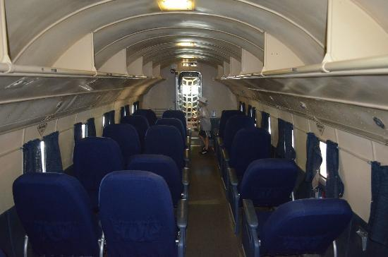 Interior of DC-3 - Picture of American Airlines CR Smith Museum ...