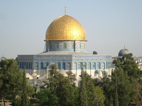 Tempelberg: Monte del Templo, Templo de la Roca, Jerusalem, Israel