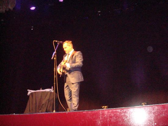 City Varieties Music Hall: Jack Dee from the front row of City Varieties
