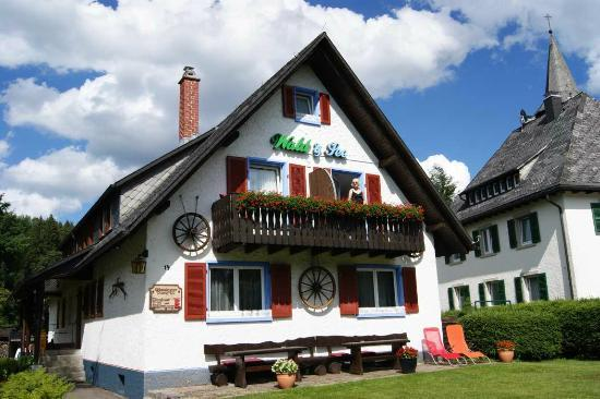 Wald und See : Front of Wald and See showing best rooms.