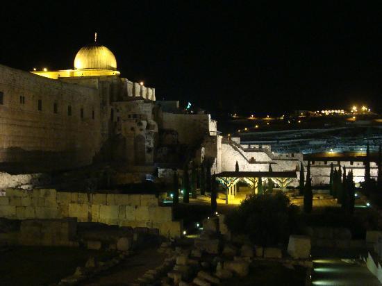 Mezquita de Al-Aqsa, Monte del Templo, Jerusalem, Israel