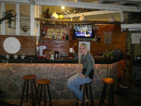 Auberge de la Langouste: Bar 