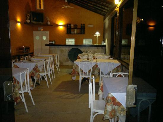 Auberge de la Langouste: Comedor diario