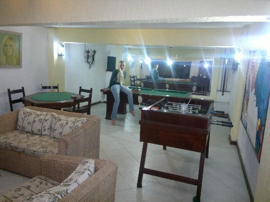 Auberge de la Langouste: Sala de juegos 