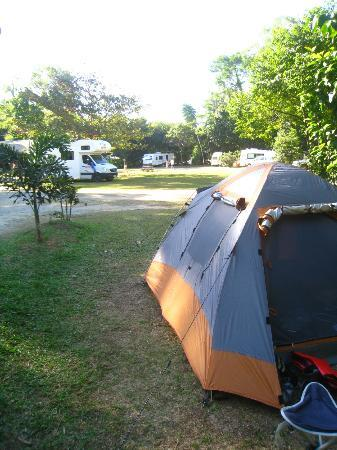 Cape Trib Camping: Spacious powered sites