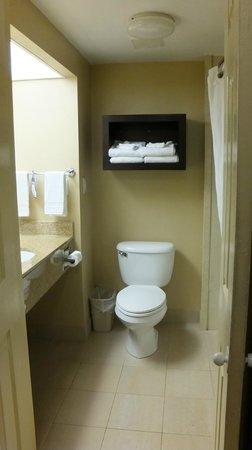 Best Western Oceanfront: Toilet