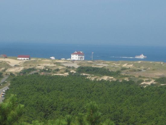 Race Point Beach: View from the Observation Deck at the Visitor's Center