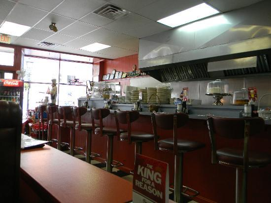 Angie's Coffee Shop : Inside of Angie's