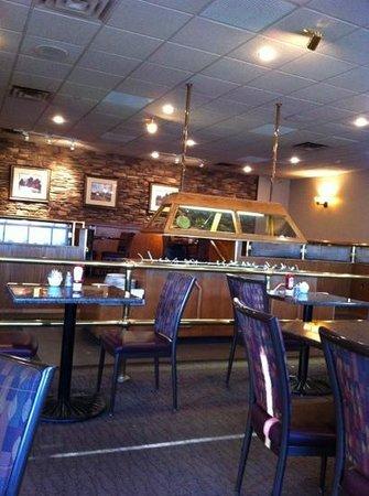 interior of Seasons Restaurant at Heritage Inn