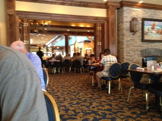 Captain George S Seafood Restaurant Inside The