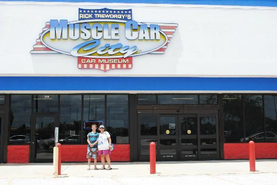 Entrance To Muscle Car City Picture Of Muscle Car City Museum