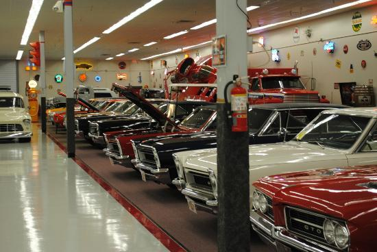 Muscle Car City Museum: And more rows...